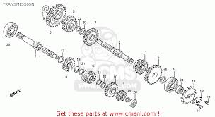 honda mtx honda mtx50rsf belgium transmission schematic partsfiche