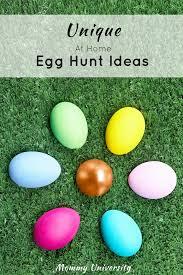 Easter Egg Hunt Ideas Unique At Home Egg Hunt Ideas Mommy University