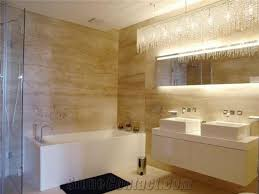 Travertine Bathrooms Bathroom Design Travertino Classico Beige Travertine Bathroom