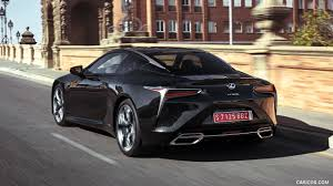 lexus supercar hybrid 2018 lexus lc 500h hybrid color caviar rear hd wallpaper 54