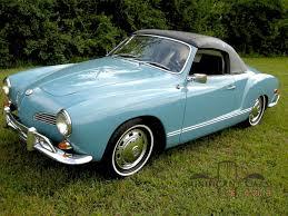 karmann volkswagen 1968 karmann ghia cabriolet significant cars inc