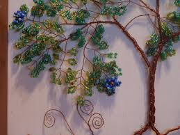 beaded wire tree sculpture crafting tutorial brianadragon creations