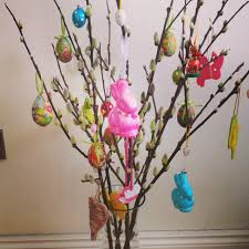 decorative easter trees happy easter 2017