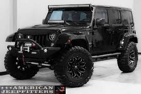 custom black jeep the scout series jeep from american jeepfitters