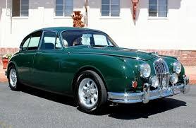 1964 jaguar mkii sedan british racing green great color