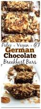 paleo german chocolate cake breakfast bars