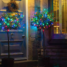 Battery Outdoor Christmas Lights by Outdoor Battery Lights Sacharoff Decoration