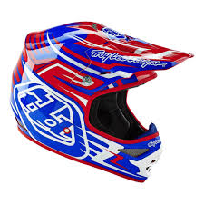 troy lee motocross gear troy lee designs 2016 scratch air helmet red blue available at