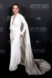 Jamie Dornan and Dakota Johnson attend Fifty Shades Freed premiere
