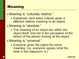 What Is The Meaning Of Desk Com 340 Lecture 2 Perception Meaning Reality And Axioms Of Icc
