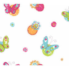 butterflies wallpaper u0026 border wallpaper inc com
