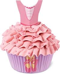 Wilton Cupcake Decorating Wilton Industries 415 2529 48 Count Ballerina Cupcake Decorating