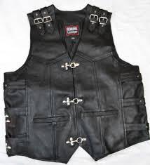 motorbike vest leather waistcoats ireland