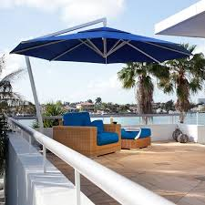 Best Patio Umbrella For Shade Outdoor Offset Patio Umbrella Modern Patio Chicago By Home