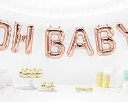 baby shower baby shower balloons etsy