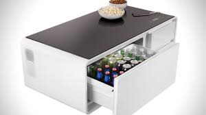 smart coffee table fridge sobro smart coffee table now this is a coffee table i can get behind
