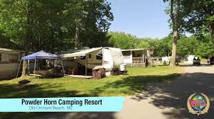 powder horn family campground old orchard beach me youtube
