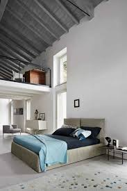 upholstered double bed toolate by bonaldo