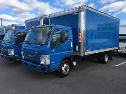 mitsubishi fuso 4x4 crew cab box van trucks for sale