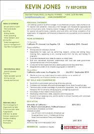 Sample Journalist Resume by Reporter Resume Examples 2017 Latest Templates U2022