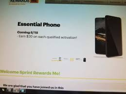 sprint phones black friday sprint to launch the essential ph 1 this friday androidheadlines com