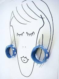 paper mache earrings 107 best paper mache earring images on paper mache
