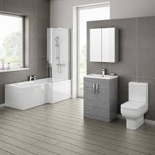 bathroom cool small bathroom with l shaped bath ideas sipfon