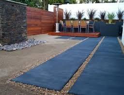 Backyard Concrete Patio Concrete Patio Pictures Gallery Landscaping Network