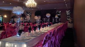 Sweet 16 Table Centerpieces Long Table Wedding Decoration Ideas Images Party Table Decorating
