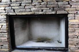 Clean Fireplace Stone by Fireplace Makeover Part 1 All Things Heart And Home