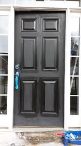 Interior Door Hardware Focal Point Styling How To Paint Interior Doors Black U0026 Update