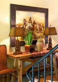 Western Interior Design by Southwestern Table Lamp Foter