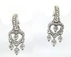 judith ripka earrings judith ripka earring etsy