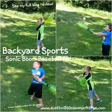 backyard sports sonic boom bat ball set review spon photo with