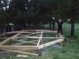 Building A Tent Platform The True Cost Of The Yurt Platform Rainier Yurts