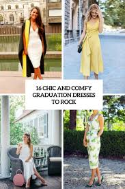graduation dresses 16 chic and comfy graduation dresses to rock styleoholic