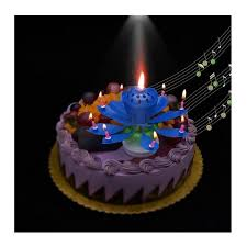 spinning birthday candle spinning musical birthday candle 5 pk embee