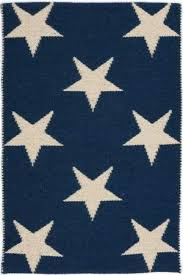 Rug With Stars Dash And Albert Star Rdb342 Navy Ivory Area Rug Beach House