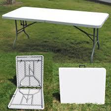 indoor outdoor furniture ideas decorating 6ft folding table portable indoor outdoor furniture