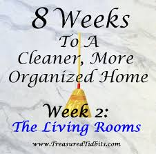 treasured tidbits by tina 8 weeks to a cleaner more organized home