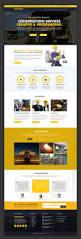 freebie construction company website template free psd free