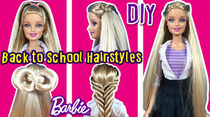 back to hairstyles of barbie doll diy barbie hair