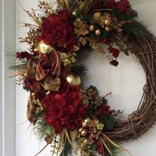 Holiday Wreath Best 25 Hydrangea Wreath Ideas On Pinterest Door Wreaths