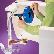 Household Items To Unclog A Bathtub Drain How To Clear Clogged Drains The Family Handyman Unclog Bathtub