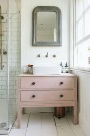 best ideas about bathroom sink cabinets pinterest tiny rebecca rvk loves bathroom tour