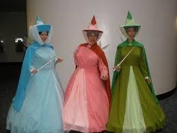 Sleeping Beauty Halloween Costume Sleeping Beauty Fairy Godmothers Halloween Costumes Halloween