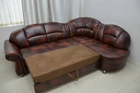 100 Real Leather Sofas Real Leather Corner Sofa Bed Romero Real Leather All Over