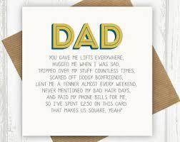 funny dad card etsy