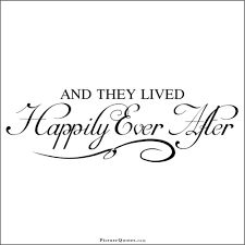 and they lived happily after picture quotes wedding