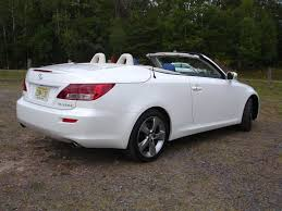 lexus is van 2010 lexus is 350 convertible review autosavant autosavant